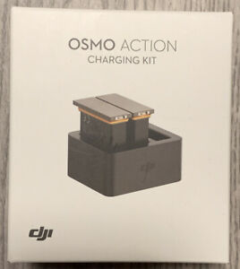 DJI Osmo Action Charging Kit With Charging Hub And 2 Batteries - New