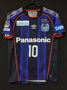 2018 GAMBA OSAKA Home J.League Jersey Soccer Shirt SS-S(Japan Size) *AUTHENTIC*