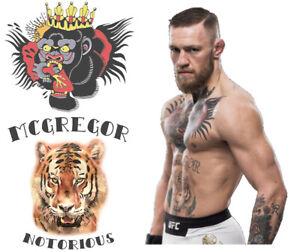 Conor McGregor Fake Tattoos