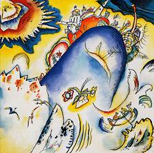 Kandinsky #21 cm 70x70 Stampa su Carta Fotografica Opaca Matt, Papi Arte