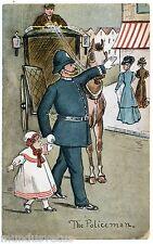 ILLUSTRATEUR .THE POLICEMAN.ENGLISH.POLICIER ANGLAIS.