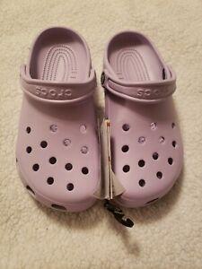 Crocs Women's classic LAVENDER clogs sz.9 NEW!!!