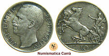 [NC] VITTORIO EMANUELE III - SAVOIA -  10 LIRE BIGA 1927 DUE ROSETTE (nc1694)