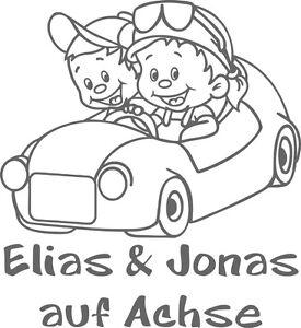 Babyaufkleber,Autoaufkleber,Namenaufkleber,Geschwisteraufkleber  GGS42