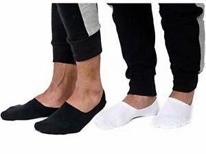 MENS COTTON RICH INVISIBLE LOAFER BOAT TRAINER FOOTSIES LOW CUT SHOE LINER SOCKS