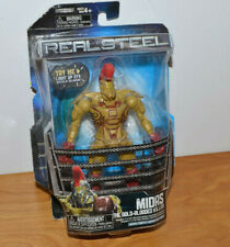 "REAL STEEL MIDAS ACTION FIGURE 5.5"" TALL MOC GOLD-BLOODED KILLER JAKKS PACIFIC"