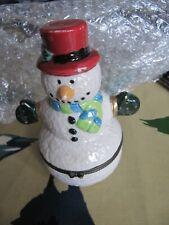 The Odd Box Trinket box, Snowman