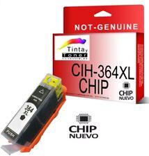 Cartucho compatible HP 364 xl CB322EE CB317EE CHIP color Negro Photo