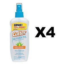 Cutter Skinsations Insect Repellent 6oz Pump Spray 7% DEET Bonus Size (4-Pack)