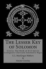 NEW The Lesser Key of Solomon by Aleister Crowley