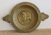max le verrier plat a oreille ou coupe en bronze epoque art deco