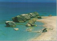 CARTOLINA SICILIA SICILY POSTCARD CAPO D'ORLANDO SPIAGGIA E MARE - BEACH SEA