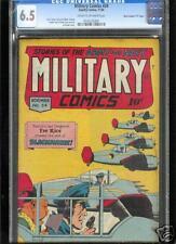 Military Comics #34  CGC  6.5  FN+  Universal
