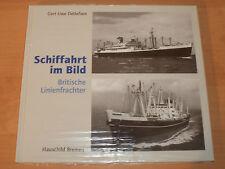 Sammlung Schiffahrt im Bild Britische Linienfrachter Hardcover!