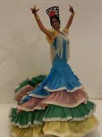 MARIN SPANISH CHICLANA LOLA Flamingo Dance DOLL 10 1/2 INCHES TALL