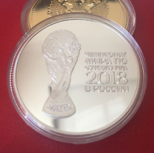 2018 FIFA Russian Football World Cup Commemorative Coin Football Silver Coins US