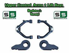 """99 - 06 Chevy Silverado Sierra 1500 TUBULAR UPPER CONTROL ARMS + 3"""" LIFT KEYS"""
