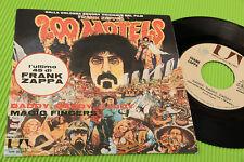 """FRANK ZAPPA 7"""" DADDY DADDY DADDY ORIG ITALIE 1972 EX"""
