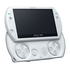 PSP / Playstation Portable - Konsole PSP GO #weiß / Pearl White + Stromkabel