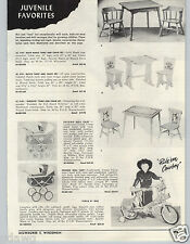1953 PAPER AD Cowboy Circle H Bicycle Bike Rifle Scabbard