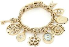 Anne Klein Swarovski Crystal Charm Ladies Watch 10-8096CHRM
