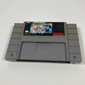 Super Mario All-Stars (Super Nintendo, 1993) Tested, Working, Authentic