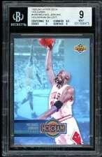 Michael Jordan Card 1993-04 Upper Deck Holojams #hb4 BGS 9 (9.5 8.5 9 9)