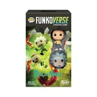 Funkoverse Rick And Morty Expandalone The Strategy Game NEW IN STOCK
