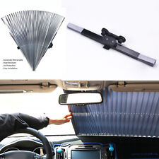 1PC Car Retractable Foldable Rear Window Sun Shade Windshield Sun Shield Cover