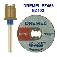 NEW AUTHENTIC DREMEL EZ LOCK EZ402, EZ456B CUTTING DISC 2 PIECE SET