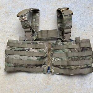 London Bridge LBT-2586M-500D Low Profile Chest Vest w/ Zipper Multicam SOFLCS