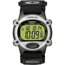 Timex Expedition Mens Chrono Alarm Timer Silver/Black T48061
