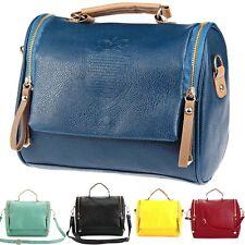 Leather Crossbody Bag Shoulder Tote Handbag Purse Satchel Women Ladies Messenger