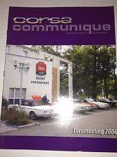 Corsa Communique Magazine Euromeeting 2006 033117NONRH