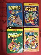 lotto 4 fumetti i classici disney 1^ edizione tra N° 51 e il N° 62 wald disney