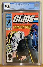 G.I. JOE #55 CGC 9.6 - WHITE  *CLASSIC UNMASKING COVER* GRUNT RETIRES *