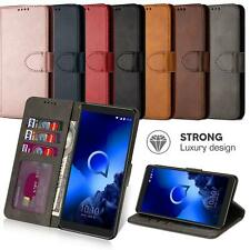 For Alcatel 1B 1S 3L 1X 2020 Wallets Case Leather Flip Wallet Protection Cover