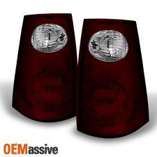 01-05 Ford Explorer Sport Trac Dark Red Tail Lights Brake Lamp Replacement Pair