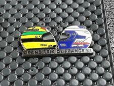 pins pin BADGE CAR F1 FORMULE 1 AYRTON SENNA VS PROST