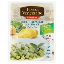 Le Veneziane Gluten Free Spinach Gnocchi - 2 x 250g (1.1lbs)