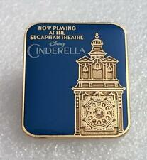 Disney Dsf Dssh Cinderella Now Playing at The El Capitan Le 1000 Gwp Pin