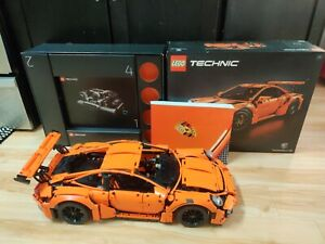 Lego Technic 42056 911 GT3 RS Porsche(Fully Assembled). Includes Box And Manual!