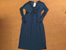artigiano  Peacock  Coloured  Beaded Effect Dress Size 12  Brand New