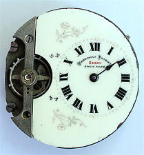 Hebdomas 8 day - Pocket watch - Movement - Parts - Swiss - Antique - Rare - old