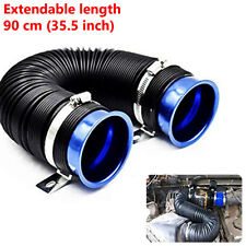 Durable Car Blue Turbo Multi Flexible Air Intake Pipe Tube Intake Inlet Hose