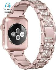 Rhinestone Metal Strap Compatible With Apple Watch 42mm/44mm Series 5/4/3/2/1