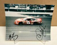 NM-Mint Hand Signed Dale Earnhardt Jr 8x10 Color Photo W/ Nascaracepix COA