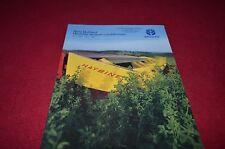 New Holland 472 488 492 499 Haybine Mower Conditioner Dealers Brochure YABE11