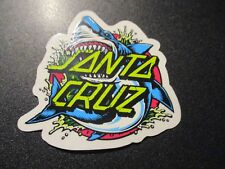 "SANTA CRUZ Skate 3"" Sticker Shark Logo skateboard helmets decal"