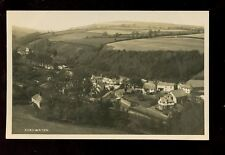 Somerset ROADWATER Panoramic view early RP PPC by H H Hole Williton
